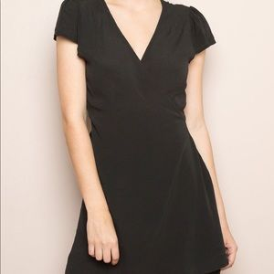 Brandy Melville Charcoal Cotton Robbie Dress